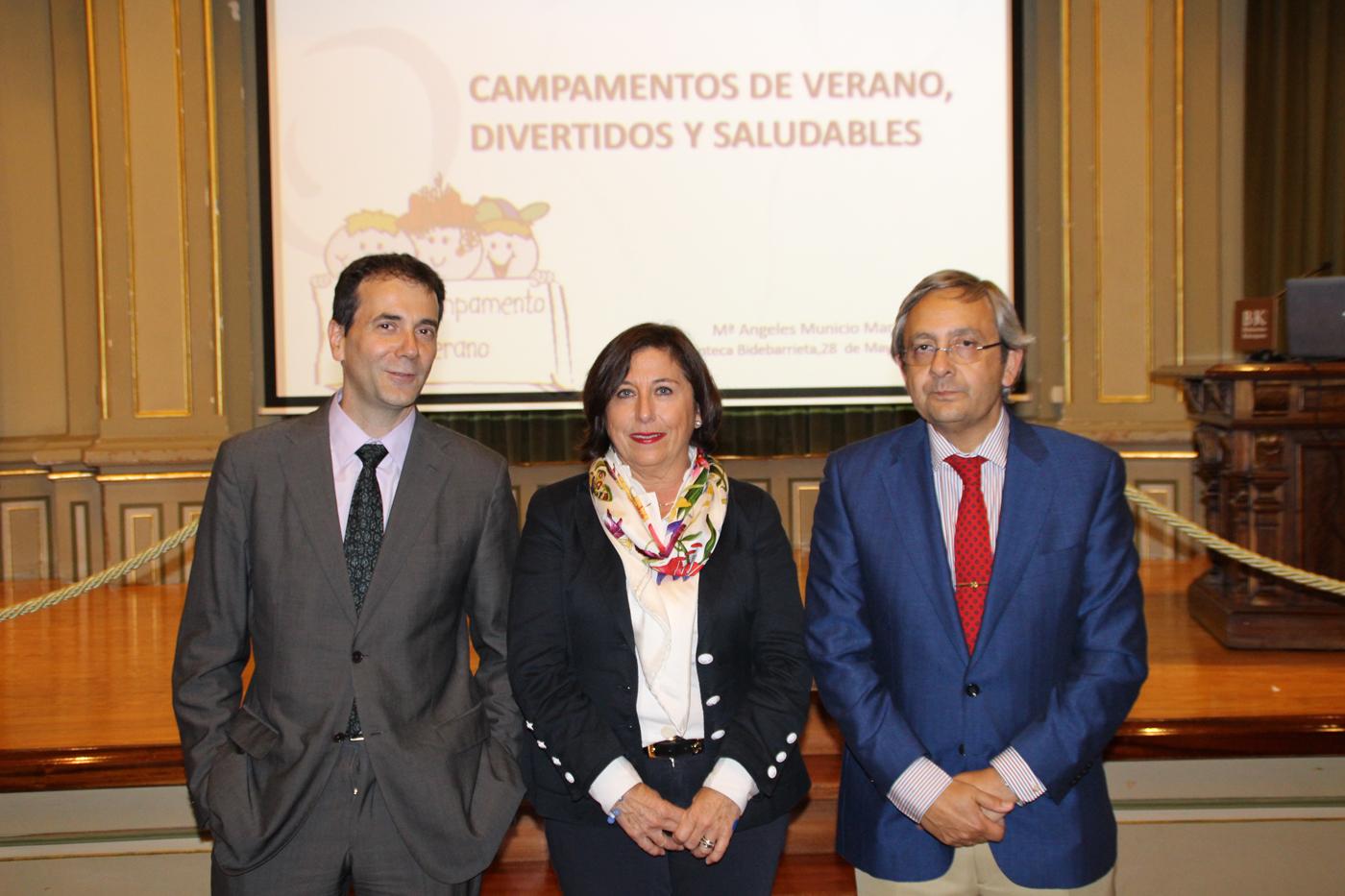 Fermín Apezteguía, Marian Municio, Juan Goiria