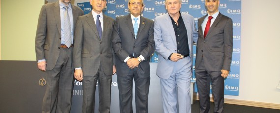 Juan Antonio Mieza, Pedro Ensunza, Juan Goiria, José Antonio López y Francisco García Bernal