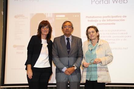 Lide Amilibia, Juan Goiria y Miren Dorronsoro