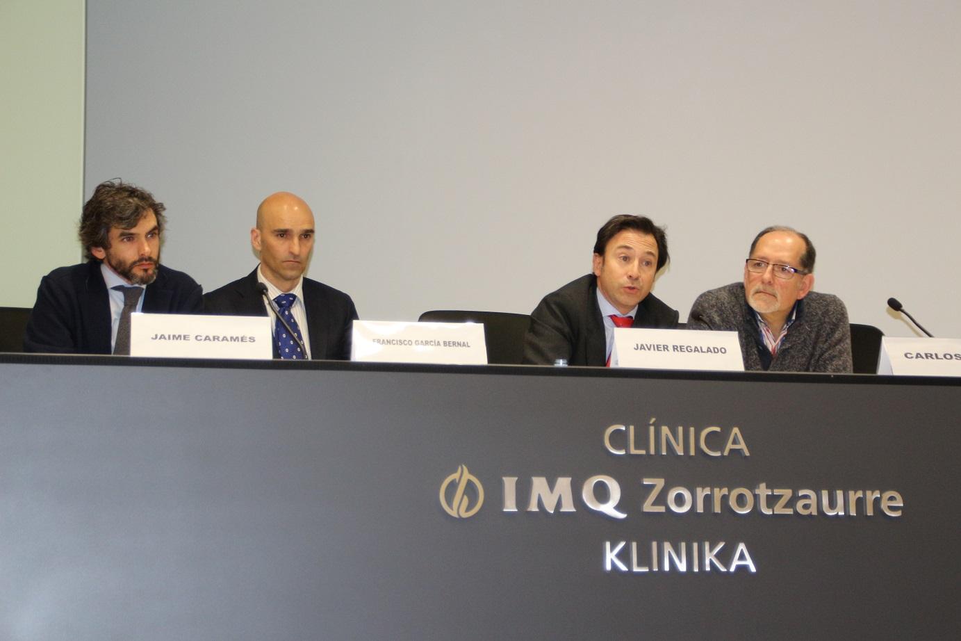 Jaime Caramés, Francisco García Bernal, Javier Regalado y Carlos Jul
