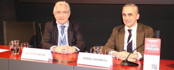 Jacinto Bátiz y Joseba Vidorreta