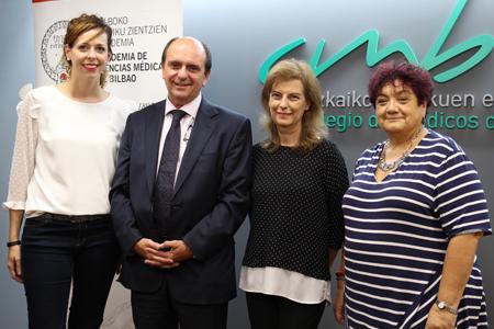 Arantza Altuna, Jon Guajardo, Marian Mateos y Celina Pereda