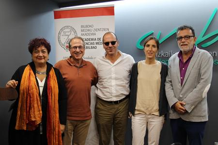 Celina Pereda, Ricardo Franco Vicario, Jesús Ibarluzea, Aitana Lertxundi y Joaquín Terán-Santos