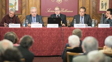 Fernando Canales, Jacinto Bátiz, Ricardo Franco Vicario, Jorge Arbaiza y Alberto Alonso