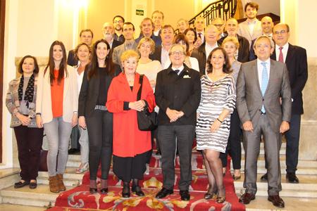 Reunión de los presidentes de sección de la Academia de Ciencias Médicas de Bilbao