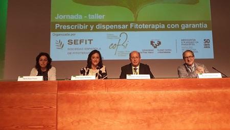lavia Erazo, Elena Suárez, Salvador Cañigueral Folcará y Ricardo Franco Vicario