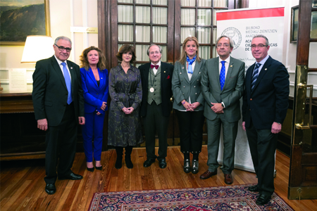 2 Francisco L Dehesa, Gotzone Sagardui, Nekane Murga, Ricardo Franco, Teresa Laespada, Juan Goiria y Antonio del Barrio