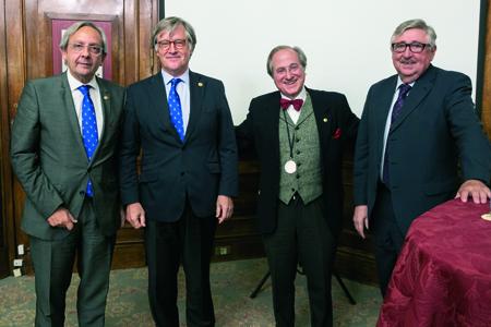 3 Juan Goiria, Antón Pérez-Iriondo, Ricardo Franco y Juan José Zarranz