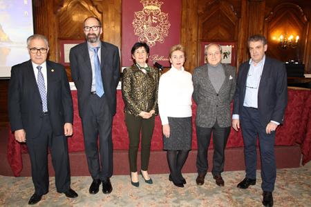 Francisco L Dehesa, Enrique Peiró, Margarita Viciola, Lucila Madariaga, Ricardo Franco Vicario y José María Arteagoitia