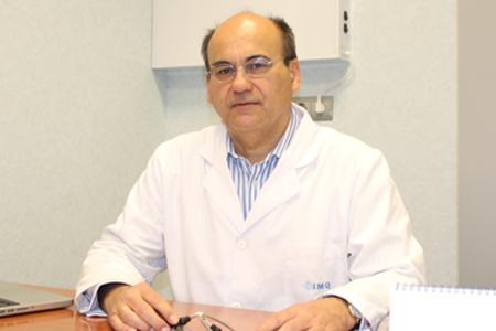 Jesús Rodríguez, presidente de la Sección de Pediatría de la Academia de Ciencias Médicas de Bilbao-web