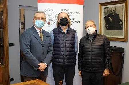 osé Luis Neyro, Salvador Robles Miras y Ricardo Franco Vicario