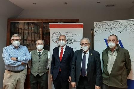 Juan José Zarranz, Ricardo Franco, Álvaro Mateos, Francisco L Dehesa y Ramón A Juste
