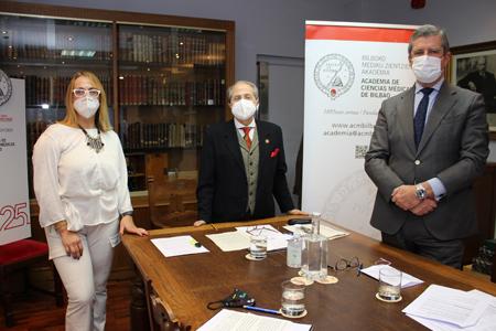 Agurtzane Ortiz, Ricardo Franco Vicario y Víctor Echenagusia