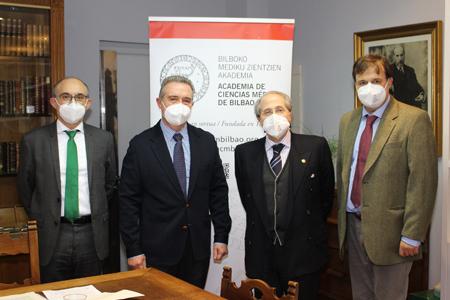 Juan del Arco, Antonio del Barrio, Ricardo Franco y Alberto Martínez